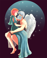 KS - I Could Be The Psyche to Your Eros by hani-boo