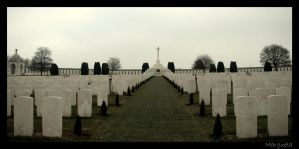 Tyne Cot cemetery by margueta