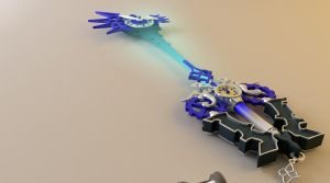 No Name Keyblade view 2 by tom55200