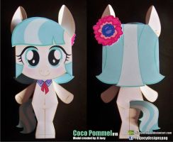 Coco Pommel Completed Model by ELJOEYDESIGNS