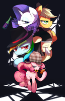 Private detective Pinkie pie. by Marenlicious