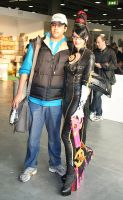 Bayonetta at Cartoomics 2012 -06 by Daelyth