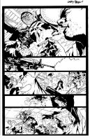 Punisher Max Page inked by thisismyboomstick