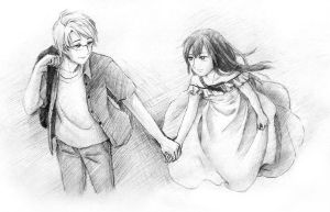 APH AmeViet: Holding Hands by AlexMark23