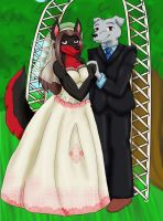 Commish- Wedding Day by KittyKyomi