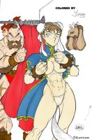 Chun Li change by Halfax