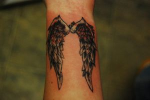 Angel wing Cover up.. by WikkedOne