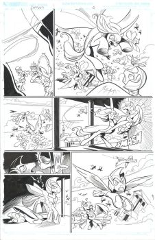 Chrysalis FIENDship is magic page 5 by andypriceart