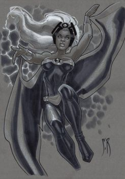 Storm sketch Baltimore 2010 by StephaneRoux