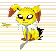 Zappo- the jolteon by X--O