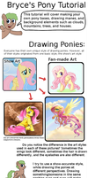 Pony Art Tutorial by TurboBrycerox