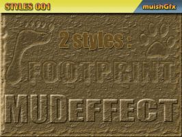Mud Effects - Photoshop Styles by muish