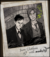 Oswald and Jonathan by Klar-Jezebeth