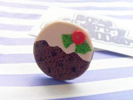 Christmas Pudding Ring by tyney123
