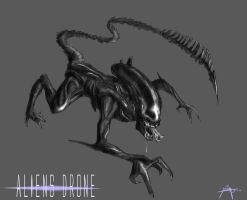 Alien Drone by CorruptionSolid