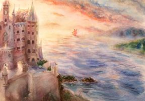 Cair Paravel by ChristineVonLemberg