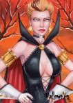 Hallowe'en Sketch Card - Rhiannon Owens 3 by Pernastudios