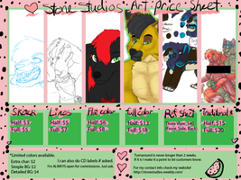 2011 Price Sheet by ZinStone