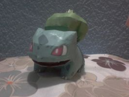 bulbasaur papercraft by javierini