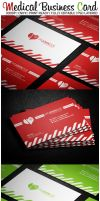 Medical Business Card by karimmove