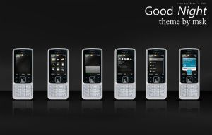 Good Night - S40 Nokia Theme by mihaisk