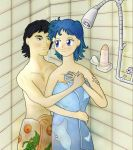 After a shower by Random223
