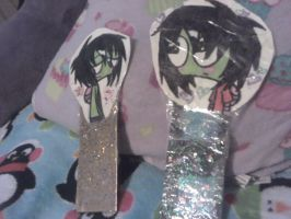 Playing With Fire Zim Bookmarks 2 by ZIMSULTIMATELUVA