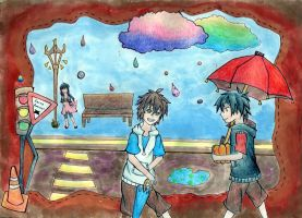 Rainy Days by NekoExpress