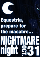 Nightmare Night Poster by Skeptic-Mousey