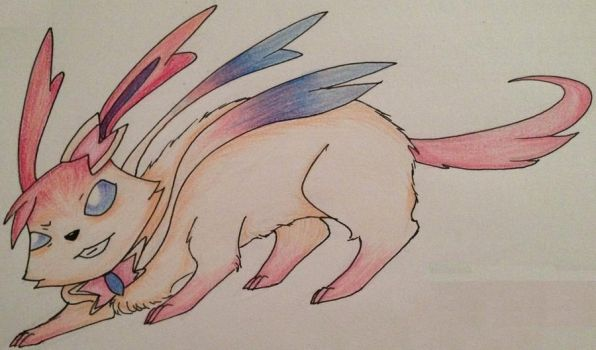 Mission Statement Two: Sylveon by Rayonder