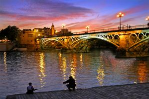 Gone Sevilla Fishing (Print) by skiphunt