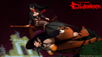 Momiji x Nyotengu - Hunt that b*tch! by aldryrevenant