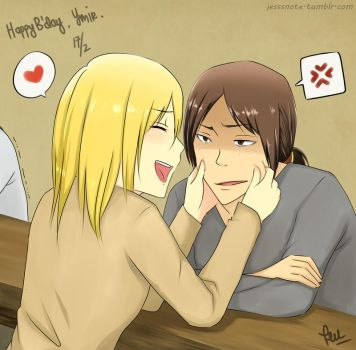 Happy B'day, Ymir~ by jess09