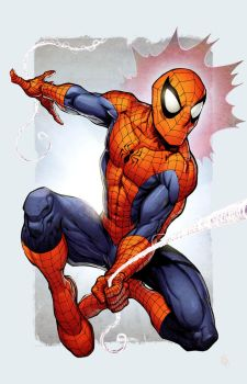 Spidey colors by Simon by bathill8