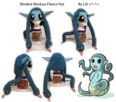 OC Modest Medusa Hat by LiliNeko