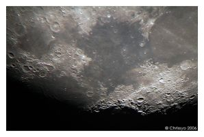 The Moon 18-01-2006 by Chrissyo