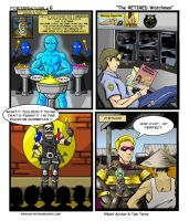 WATCHMEN Spoof Web Comic by GuruMog