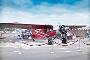 1 Red Airplane by reya808