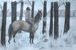 Thinking of winter by Perhone