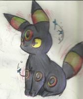 Shiny Umbreon by Urahana