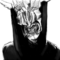 The mouth of Sauron by Tystien