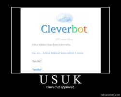 Motivational Poster- Cleverbot Approved by Mona-the-yaoi-freak