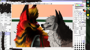 this is taking forever WIP by redandblackfennec