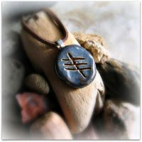 Celtic 'Healing' Ogham by GoodDirtJewelry