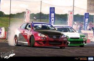_Lexus Drifter Style_ by magnanimus