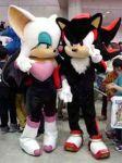 Rouge and Shadow Cosplay by S2RougeS2