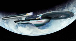 USS Enterprise NCC-1701-B by thefirstfleet