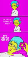 OC: Hold My Flower by ko-yamii