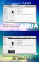 Aqua+Underground for AIMP by Denisan91