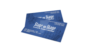Stage on Stage presentation card by DeepBlueMako